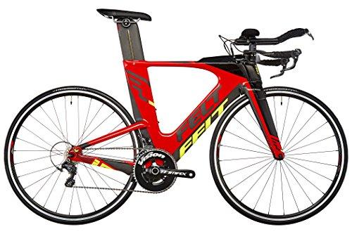 感觉IA4  - 铁人三项自行车 - 红色/黑色镜框尺寸54 cm 2017