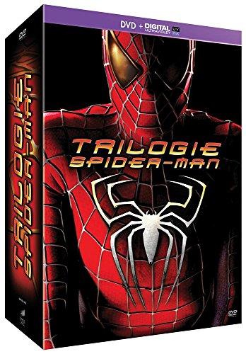 Spider-Man Origins : Spider-Man 1 + Spider-Man 2 + Spider-Man 3 [DVD + Copie digitale]