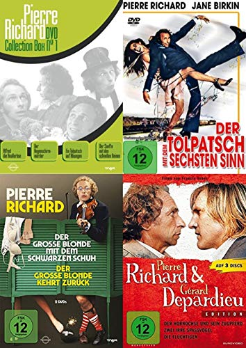10 Filme - Pierre Richard Mega Collection - der große blonde Tolpatsch 10 DVD Edition