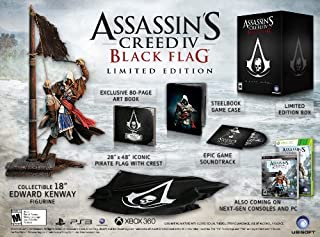 Assassin's Creed IV: Black Flag Limited Edition by Xbox 360 (B00DYDE0X8) | Amazon price tracker / tracking, Amazon price history charts, Amazon price watches, Amazon price drop alerts