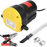 Timbertech - Pompe à vidange d'huile moteur 12 V - pompe d'aspiration d'huiles moteur et gazole ...