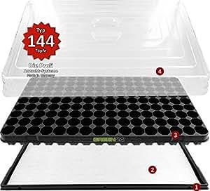 hydroponik 144 xl zimmergew chshaus mit automatischer bew sserung anzuchthaus green24 zimmer. Black Bedroom Furniture Sets. Home Design Ideas