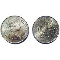 Numismatica - Il compleanno della regina Madre 80th commemorativa corona moneta 4 AGOSTO 1980