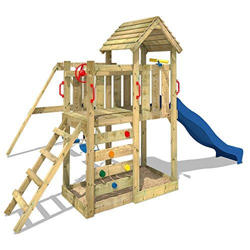 Wickey torre di arrampicata multiflyer torre giochi con for Wickey altalena