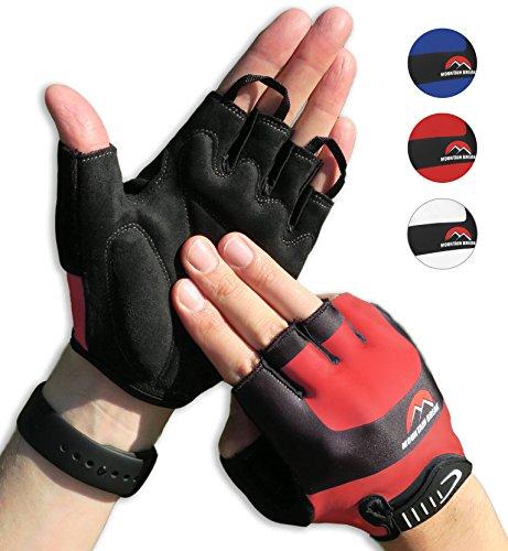 Halbfinger Radsport Handschuhe, Fahrradhandschuhe für Herren und Damen, für Rennrad, Mountainbike, Krafttraining, Fitness, Crossfit, Bergsteigen, Sport -