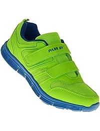 art 605 Neon Turnschuhe Schuhe Sneaker Sportschuhe Neu Herren