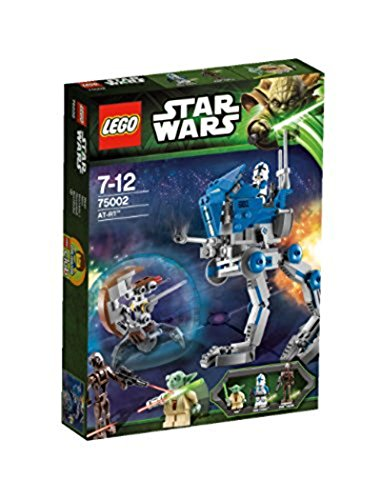 Elbenwald LEGO 75002 Star Wars The Clone Wars AT-RT Bausatz mit 3 ()