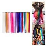 76f5862fe7 Extension Clip Capelli Colorati per Accessori Capelli Bambina 20 Pezzi 20  Colori 20'' Beauty7