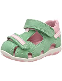 Huhua Sandals For Boys, Sandali Bambine Rosa Hot rosa, Verde (Green), 25 EU