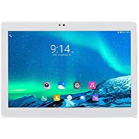 ibowin® 10.1Inch 1G RAM 16G ROM MediaTek Quad Core 3G Telefónicas Tablet PC 1280x800 IPS Resolución 3G WCDMA 2100MHz y 2G gsm WiFi GPS Bluetooth Dual-SIM Tarjeta (Plata)