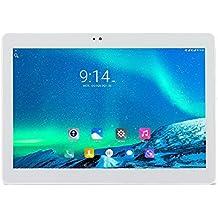 ibowin® 10.1Inch 1G RAM 16G ROM MediaTek Cuatro núcleos 3G Llamadas telefónicas Tablet PC 1280x800 Resolución IPS 3G WCDMA 2100MHz / 2G GSM WIFI GPS Bluetooth (Plata)