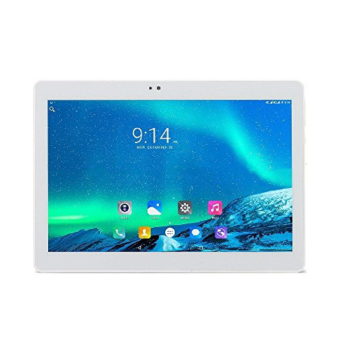 tablet con sim telefonica ibowin® 10.1 Pollici 1280x800 IPS 1G RAM 16G ROM Tablet PC 3G Cellulare Android PC WiFi AGPS Dual SIM Scheda - Argento
