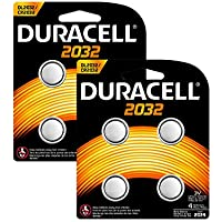 Duracell Specialty Type 2032 Lithium Coin Battery (8 batteries)