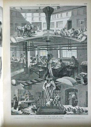 REPUBLIQUE ILLUSTREE (LA) N° 73 du 03-12-1881 UNE CONFESSION PAR PALLIERE - LA FABRICATION DES PIPES EN TERRE