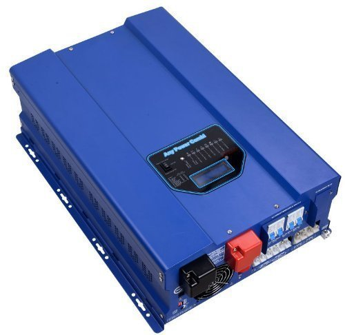 Sungoldpower 3000 W Peak 9000 W Reiner Sinuswellen-Wechselrichter, Niederfrequenz-Wechselrichter, DC 48 V AC Ausgang, 230 V Konverter, mit 40 A MPPT Solar-Ladegerät-Controller, 3 kW -