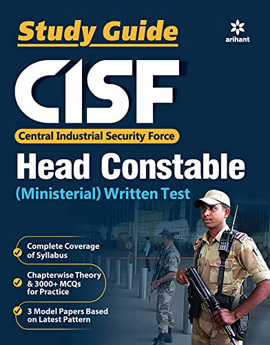 CISF Head Constable Guide 2019