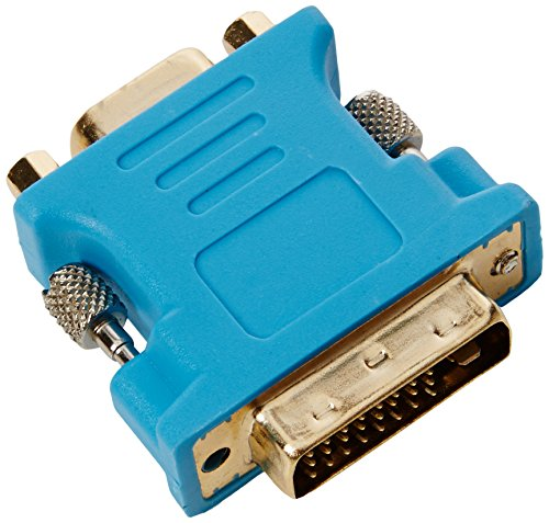 VGA (female) to DVI (DVI-I/DVI-A) Monitor (male) Display Adapter, Gold Plated, Genuine CPO Branded Product