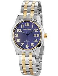 Excellanc Herren-Armbanduhr XL Analog Quarz Edelstahl 280913000004