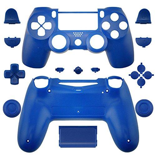 Full Gehäuse Shell und-Mod Kit für Sony PS4Playstation 4Controller Dualshock 4Old Style Gehäuse Cover Case-Blue -