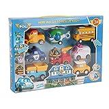 8-in-1 Robot Giocattolo per Auto Non tossico Tirare Indietro Auto Set di Veicoli Trasformatore Robot Simpatico Cartone Animato Giocattolo educativo per Bambini 3+ fghfhfgjdfj