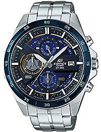 156b89f63dd3 Casio Reloj Cronógrafo para Hombre de Cuarzo con Correa en Acero Inoxidable  EFR-556DB-
