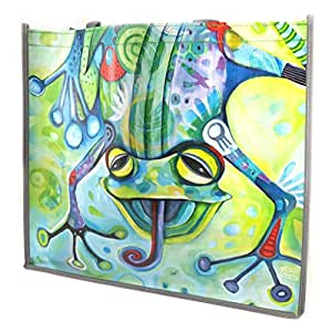 Allen Designs [M3376] - Sac Shopping design 'Allen Designs' grenouille (46x40x19 cm)