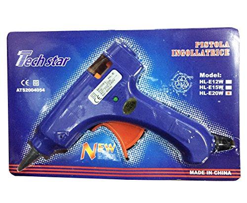 Genesi Team® GS Mini pistola per colla a caldo 20W termocollante incollatrice BLU