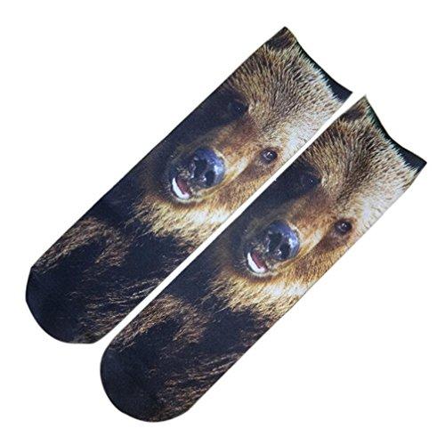 VENMO Cute 3D Printed Socken Unisex Knöchel Socken Casual Cartoon Form Socken Lustige Socken Funny Socks Damen Motive Festival Füßlinge Style Allover Print Sneaker Sportsocken Socken (A) (Print-knöchel-socken)
