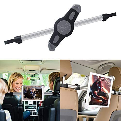Koiiko Support Tablette iPad Voiture, 360° Universel Portable et Rotatif Appuie-tête Car Holder Convient à 7-11 Pouces Tablet Pour Apple iPad 1,2,3 4, Samsung Galaxy,Motorola Xoom, And All Tablets
