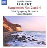 Eggert:Symphonies Nos. 2 & 4 [Gävle Symphony Orchestra; Gérard Korsten, Gérard Korsten] [NAXOS: 8573378]