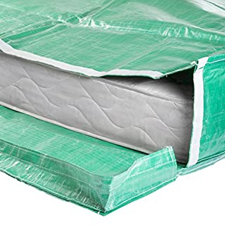 Protective Mattress Bags with Handles - for Moving and Storage - Reusable (King Size)