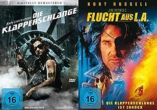 Die Klapperschlange + Flucht aus L.A. (Die Klapperschlange ist zurück) DVD-Set