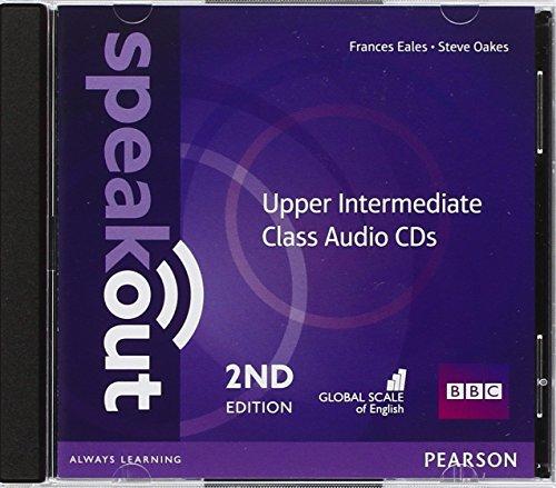 Speakout. Upper intermediate. Per le Scuole superiori. Class CDs Audio
