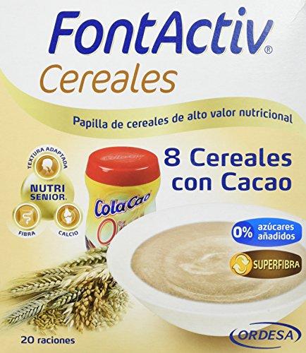 Fontactiv Cereales Cacao Suplemento Nutricional 600