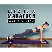 Motivations Wandtattoo Life is a