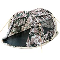 CampFeuer® - 2-Person Pop-Up Tent, Quick-Tent, Camouflage