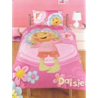 SINGLE SIZE BED FIFI & FLOWERTOTS BUTTERCUP DUVET COVER BEDDING SET