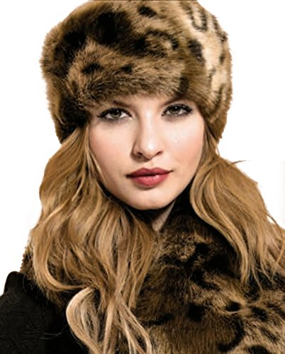 Pia Rossini Ladies Monroe Russian hat Warm/Winter/Faux Fur