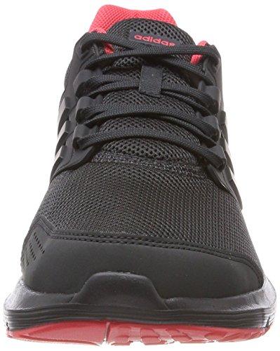 adidas Damen Galaxy 4 Laufschuhe Schwarz (Core Black/carbon S18/real Coral S18)