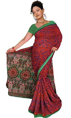 Trendofindia Trendofindia Bollywood Sari Kleid Chiffon Fo356