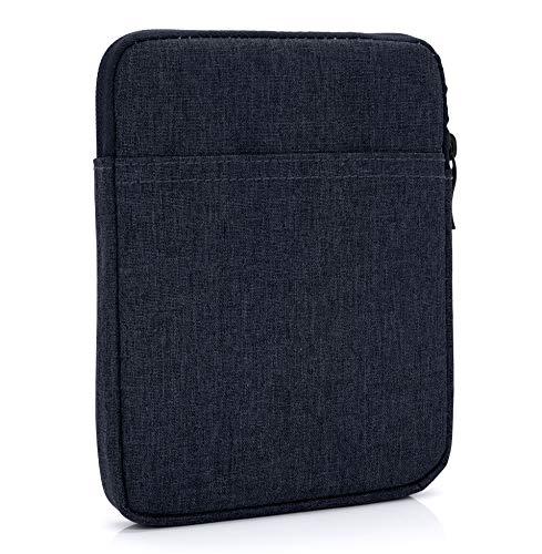 MyGadget Bolsa de Nylon de 10' para Tablet - Estuche Acolchado para Apple iPad 9.7' (Air, Pro) Mini, Samsung Galaxy Tab S3, Huawei MediaPad M5 - Azul Oscuro