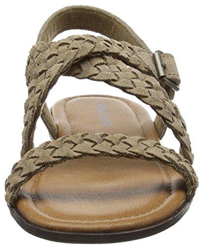 Minnetonka Santorini Damen Slingback Sandalen Beige (Taupe TPE)