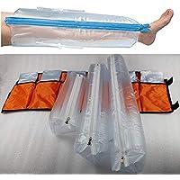 Erste-Hilfe-Air Splint Kits, Aufblasbare Kunststoffschiene, Set Von 6, Mit Hand / Handgelenk, Ellenbogen / Half... preisvergleich bei billige-tabletten.eu