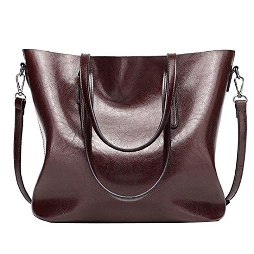 Millya, Borsa a spalla donna, Brown (marrone) - bb-00343-01 Brown