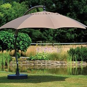 ampelschirm easy sun xl premium 375 8 baumarkt. Black Bedroom Furniture Sets. Home Design Ideas