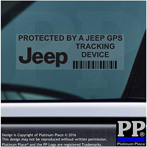5-x-jeep-gps-nero-dispositivo-di-tracciamento-vetrofanie-87-x-30-mm-grand-cherokee-xk-kj-patriot-wra