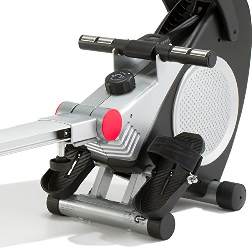 Marcy-Foldable-Magnetic-Rower-with-Hand-Pulse-One-Size-SilverBlack