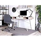 Selsey - Escritorio Lagertha de moderno estilo escandinavo para oficina en casa, escritorio para computadora.