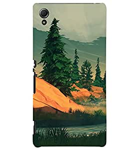 ColourCrust Sony Xperia Z4 Mobile Phone Back Cover With Nature Landscape Travellers Choice - Durable Matte Finish Hard Plastic Slim Case