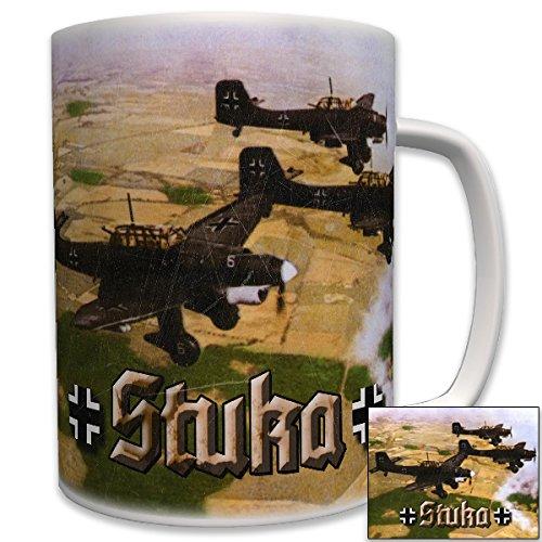 Stukas im Überflug Sturzkampfbomber LW Luftwaffe Armee - Tasse Becher Kaffee #6190